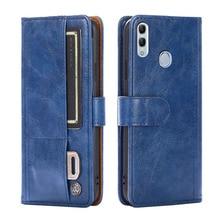 Dla Huawei Honor 10 Lite Case Honor 10 okładka klapki skórzane z silikonowymi etui na telefony dla Huawei Honor 10i Fundas gniazda kart