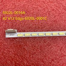 Tira de LED para iluminación trasera para LG 6922L 0016A 42L575T 42LS5700 42LS570 42LS570T 42LS570S 42LM620T 42LM6200 42LM620S 42LM615S 42PFL4317K