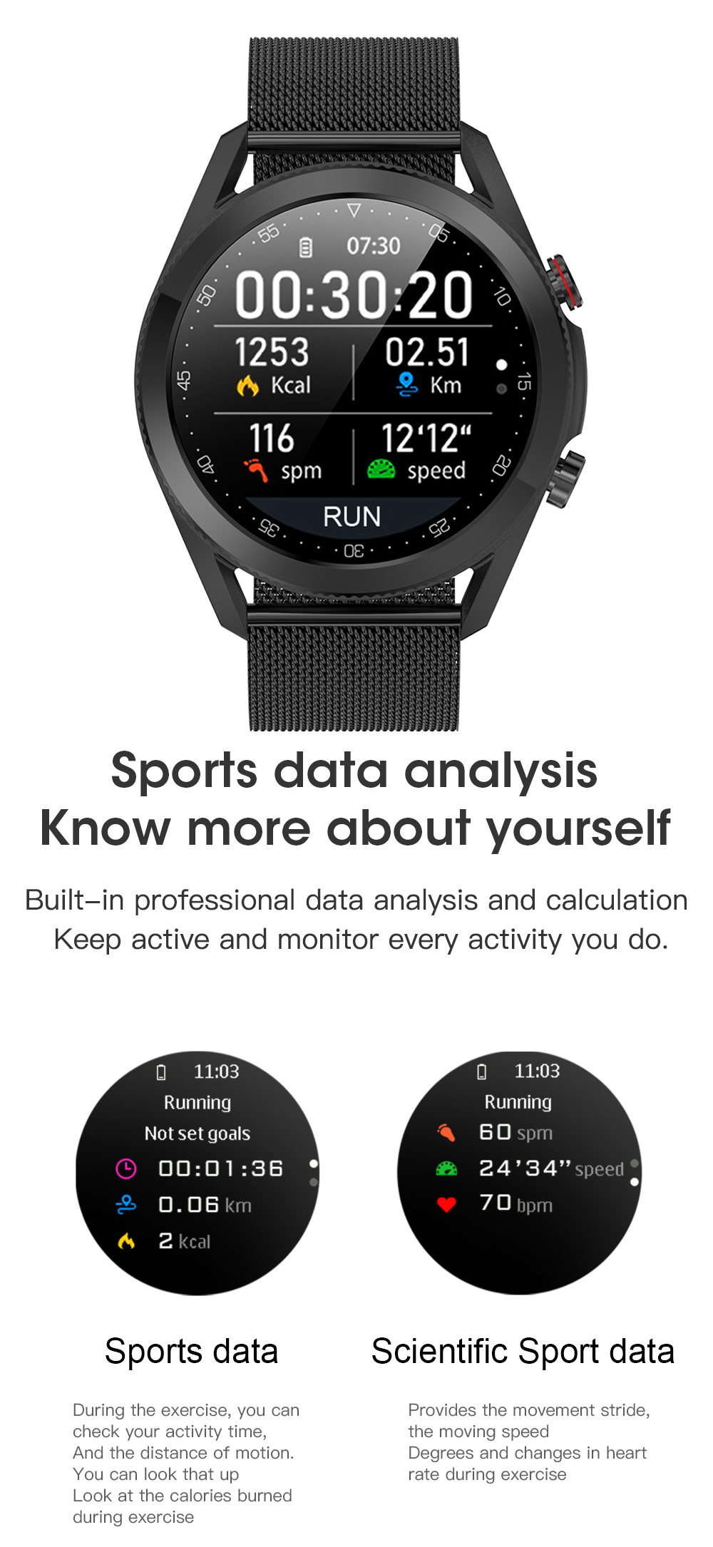 Hd7b6cccca9b645a3b8baa38e51bf71b1Z Timewolf Smart Watch Men 2021 IP68 Waterproof Android Full Touch Sports Smartwatch Bluetooth Call For Samsung Huawei Android IOS