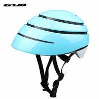Closca bicicleta dobrável capacete eps + pc cidade lazer capacetes de estrada da bicicleta dos homens adulto urbano ciclismo dobrável capacete espanha Capacete da bicicleta     -