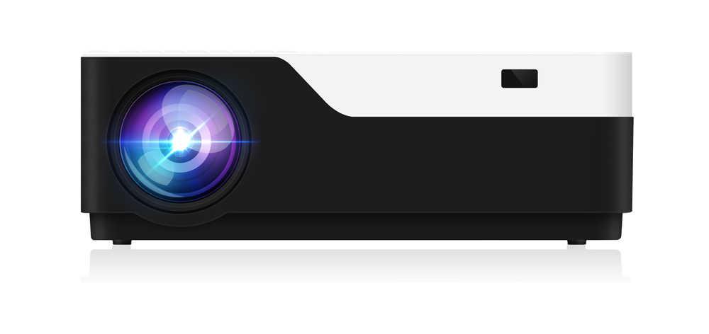 Projecteur ALSTON M18 Full HD 1080P 4K 5500 Lumens projecteur cinéma Android WiFi Bluetooth hdmi VGA AV USB