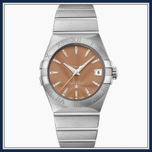 Constellation 38mm relógios mecânicos de negócios masculinos de luxo relógios automáticos à prova dwaterproof água 1:112