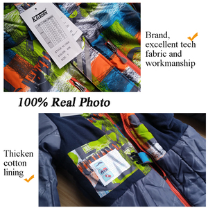 Image 3 - Marka Kids Snowsuit  30 Winter Baby Girl Boy kombinezon narciarski 10 12 wodoodporna kurtka snowboardowa odzież sportowa dziecięca odzież wierzchnia