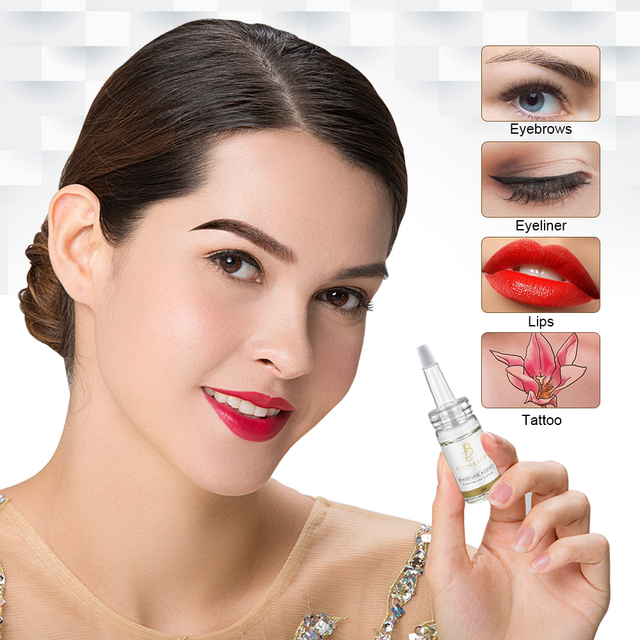 Biomaser Microblading Pigment Fixing Agent Permanent Makeup Ink Color Lock Assistence Eyebrow Fixed-line Tattoo Accessory 1