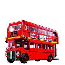 Lepinblocks Creator Expert 10258 London Bus Building Blocks Bricks Toys Model For Kids 10775 1686pcs new technic series red london bus fit legoings technic city bus model building blocks bricks diy toys 10258 gift kid toy