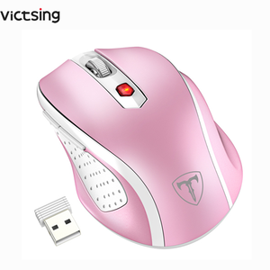 Image 1 - VicTsing Wireless 2.4G Mouse Mobile Optical Mice with USB Receiver 5 Adjustable DPI Level 6 Buttons for Notebook PC