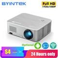 Проектор BYINTEK K15 4K 1920x1080P  умный Android Wifi проектор  светодиодный Видеопроектор для 3D 4K 300 дюймов домашнего кинотеатра  новейший 1080p