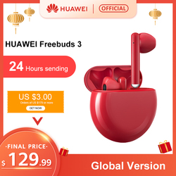 Auf lager Original HUAWEI FreeBuds 3 FreeBuds3 Bluetooth Kopfhörer TWS Drahtlose Kopfhörer Kirin A1 Chip ANC Funktion Original