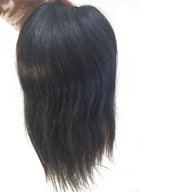 """1Pcs 5X5 """"Free Style Donna Mono Veletta nella chiusura Accessori Luce Del Merletto Top Con Circostante Dellunità di elaborazione, densità 120% di Remy dei capelli Umani di Base"""