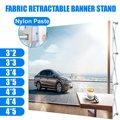 7 размеров алюминиевый сплав дисплей баннер стенд выдвижной экран баннер стенд паста стенд цветок настенная рамка фон Баннер Стойка