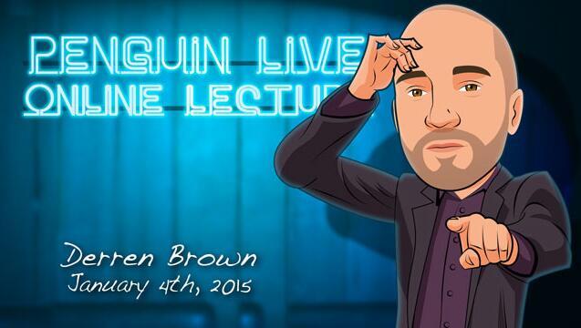 Derren Brown Penguin Live ACT - MAGIC TRICKS
