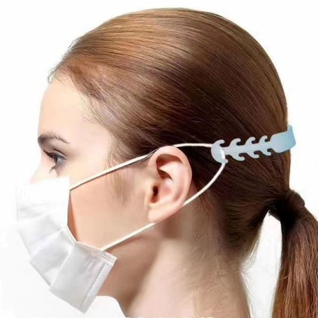 Face Mask Ear Hooks Extension Buckle  Kids Adults Adjustable Earache Fixer Anti-Slip Mask Ear Grip Extension Hook Mask Holder 3