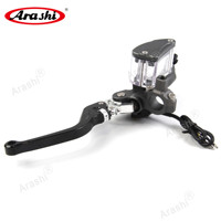 Motorcycle Brake Master Cylinder Reservior Lever 12.7mm Wide Oil Cup for Dirt Street Scooter ATV 50cc 250cc