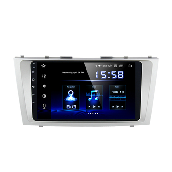 9 Car Android 9.0 Autoradio for Toyota Camry 2006 2007 2008 2009 2010 2011 GPS Navigation 1080P Video Stereo 64GB ROM image