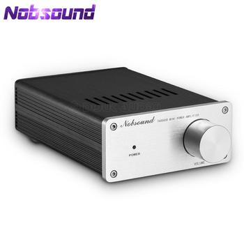 Nobsound  HiFi Mini 300W×2 Digtial Power Amplifier 2.0 Channel Stereo Class D Audio Amplifier