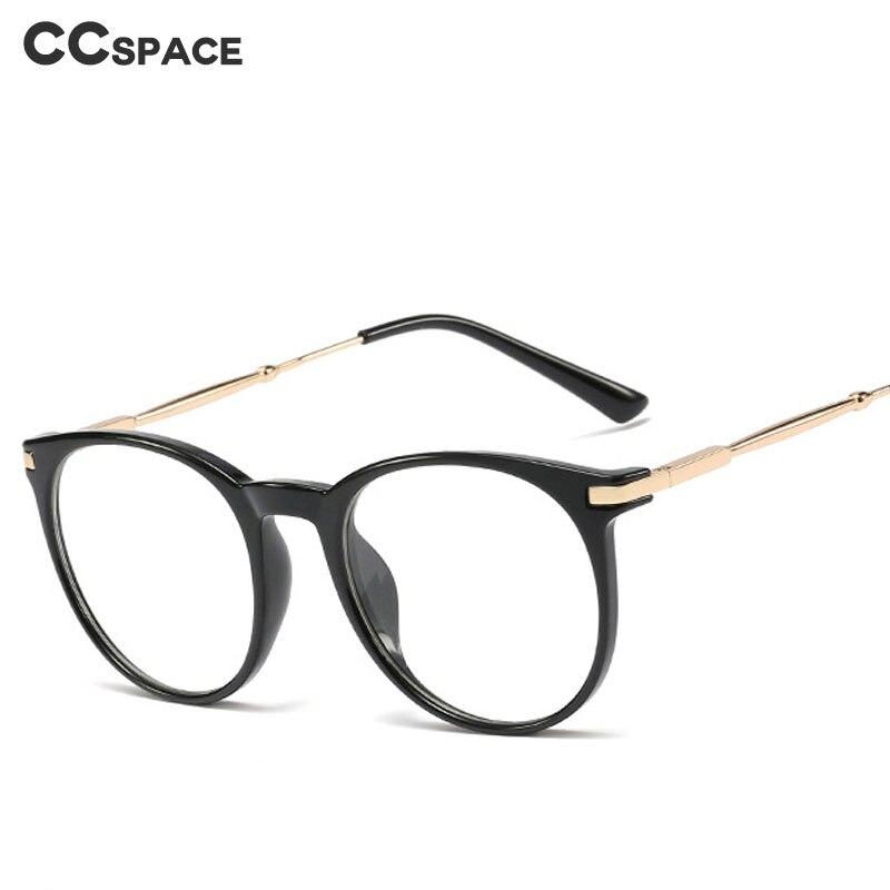 48112 Plastic Titanium Glasses Frames Round Ultralight Men Women Optical Fashion Computer Glasses