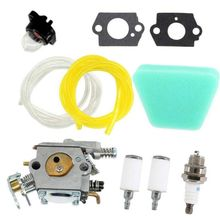 Easy To Install Garden Tools Carburetor Kit AccessoryFor Poulan 2150 2155 2175 2375 1950LE 2055LE 2375LE Air Fuel Filter