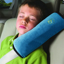 Pillow Seat-Cushion Car-Safety-Belt-Cover Shoulder-Pad Baby Kids Playpens Protect Sleep
