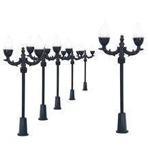 Двухголовый светодиодный светильник миниатюрный ламповый масштаб