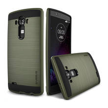 For LG G3 Luxury Brushed Metal Hybrid Hard Impact Armor Case Cover Skin Shockproof D855 D856 D857