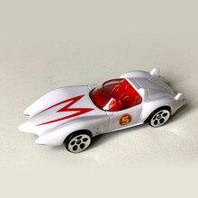 Модель спортивной машины Racer MACH 5 GO в масштабе 1:64, скоростные колеса, литые модели автомобилей, литой под давлением, коллекционные игрушки из ...