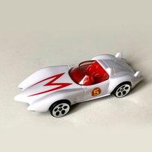 1:64 escala carros esportivos velocidade rodas racer mach 5 go diecast modelo carros morrer liga de molde brinquedo colecionáveis presentes