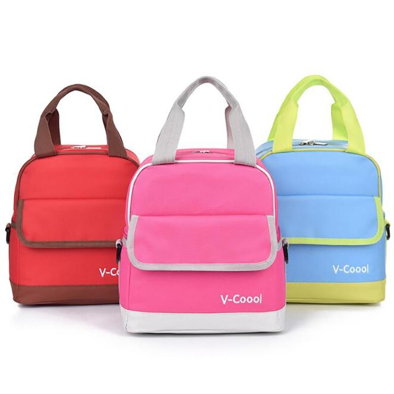 Mummy Bag Insulation Bag Breast Milk Storage Bags Fresh Keeping Backpack Handbag Toddler Picnic Food Carrying Bag