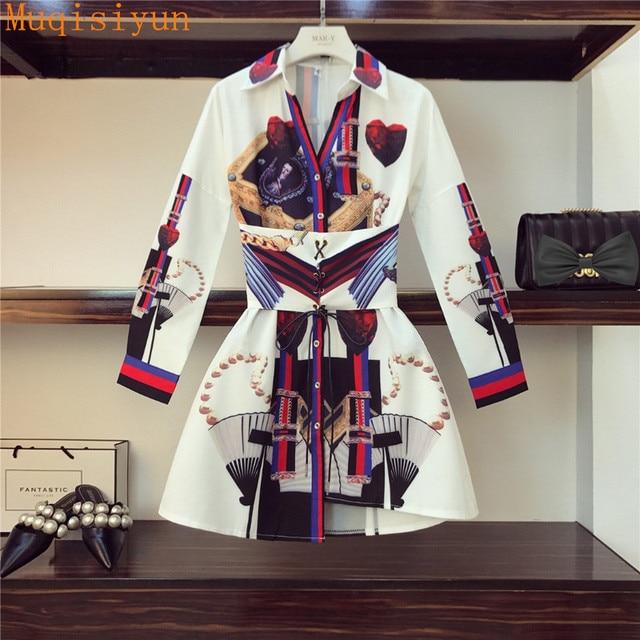 unique block print shirt dress 1