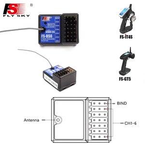 Image 2 - FS GT5,Flysky FS GT5 передатчик с фотоприемником с системой стабилизации гироскопа для радиоуправляемого автомобиля/лодки