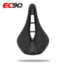 цена на 2019 EC90 NEW MTB Mountain Bike Saddle Bicycle Cycling  Skidproof Saddle Seat Silica Gel  Seat Black road bike Bicycle Saddle