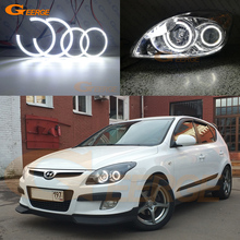 цена на For Hyundai i30 2008-2011 Excellent led angel eyes Ultrabright illumination smd led Angel Eyes Halo Ring kit