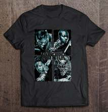 Black Panther Movie Grungeharajuku Streetwear Shirt Ment-Shirts(China)