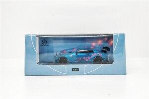 Image 4 - 1: 64 Modello di tempo Nissan GTR R35 Giappone Monte Fuji Sakula Diecast Modello di Auto