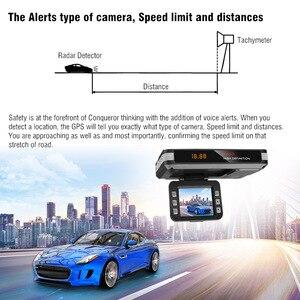 Image 4 - Auto Fahren Recorder Video Kamera DVR Anti Radar Detektor Fluss Erfassen Dash Cam 9V ~ 24V mit sauger auto ladegerät Unterstützung TF Karte