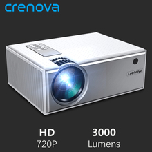 CRENOVA Video-Projector Beamer Movie WIFI Bluetooth Home Cinema Android Native-Resolution