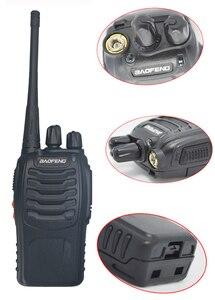 Image 3 - 2pcs/lot baofeng BF 888S Walkie talkie Two way radio set BF 888s UHF 400 470MHz 16CH walkie talkie Radio Transceiver