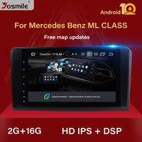 2+16 G IPS DSP Android 10 Car Radio For Mercedes Benz ML W164 ML350 ML500 X164 GL320 GL Multimedia GPS Navigation Stereo Audio