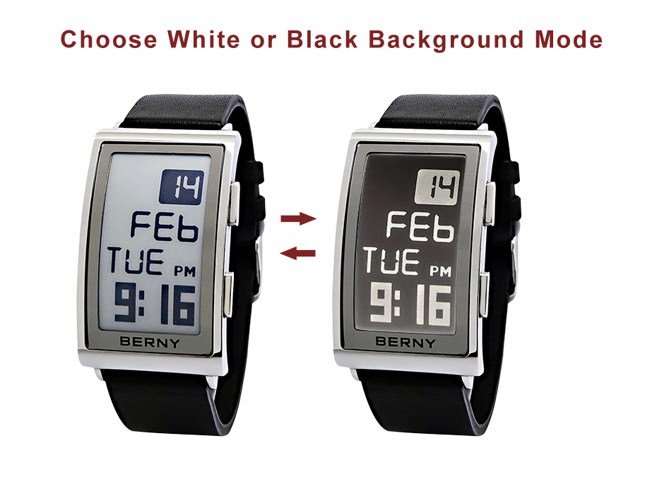 PORTRAIT Digital ink display wristwatch