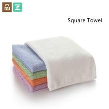 צרור מכירה Xiaomi ZSH כיכר מגבת מטפחת Polyegiene אנטיבקטריאלי מגבת Oeko tex Standard כותנה ספיגת מים עבור ba