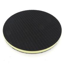 1*Sanding Pad Accessories 6inch 150mm PU Foam Interface For Hook Loop Sander Disc