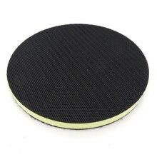 1*Sanding Pad Accessories 6inch 150mm PU Foam Interface Pad For Hook Loop Sander Disc Accessories