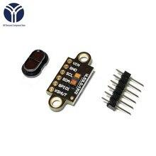 VL53L1X Laser Ranging Flight Time Sensor Module 3V-5V Distance 400cm Measurement Extension Board Module For Arduino