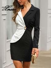 Xnxee женское элегантное офисное платье для женщин повседневное