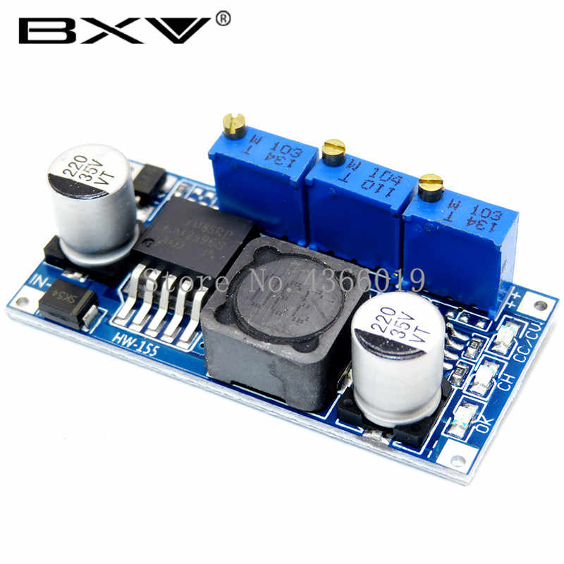 LM2596 LED Driver DC-DC Langkah-Down Adjustable Cc/CV Power Supply Modul Baterai Charger Adjustable LM2596S Konstan Saat Ini