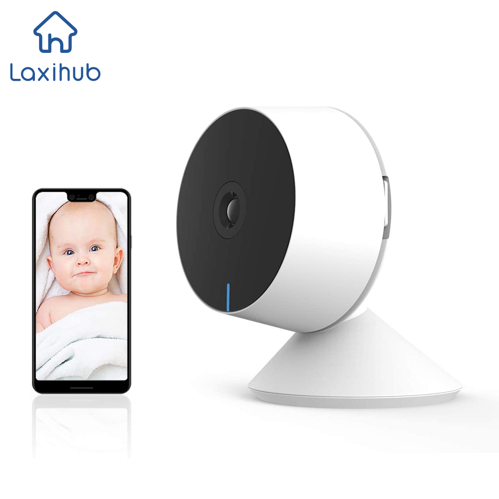 1080P IP Cam Wifi Mini Webcam Mini Indoor for Home Pet Surveillance Camera Wireless with Baby