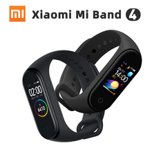 Original Xiaomi Smart Mi Band 4 Bluetooth 5.0 Heart Rate Monitor Sport AMOLED Color Touch Bracelet Water Resistant Wristband