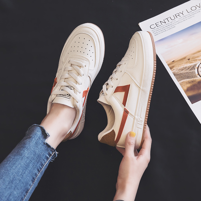 Classic Low Top Sneakers Korean-style Versatile Students Trendy Shoes 2020 Spring New White Casual Sport Sneakers Girls 35-40