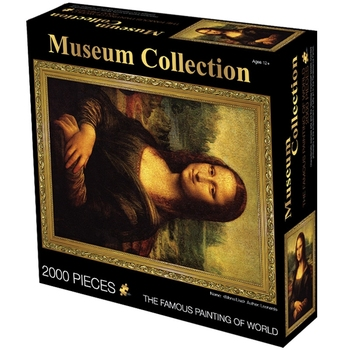 Rompecabezas para adultos TD ZW, 2000 piezas, rompecabezas de pintura del mundo para niños, rompecabezas DIY, juguetes educativos de inteligencia, Mona Lisa