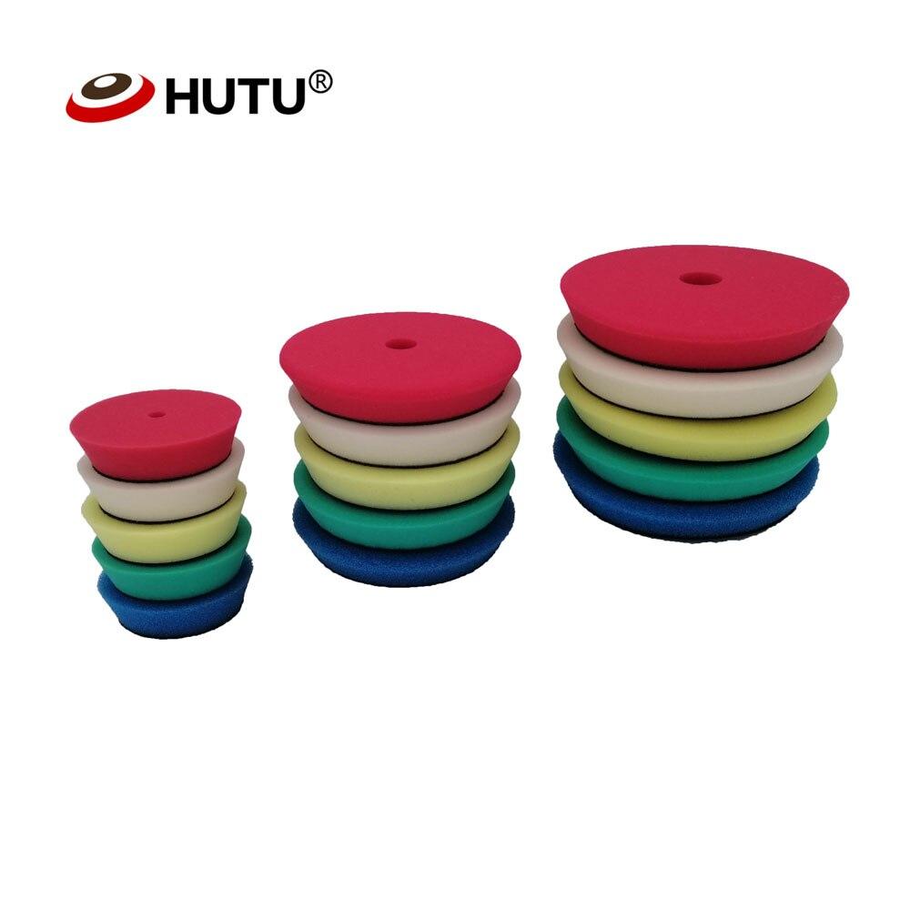 4/6/7Inch Polish Pads Europe Sponge Different Hardness Polishing Car Sponge Pad For Dual Action polisher
