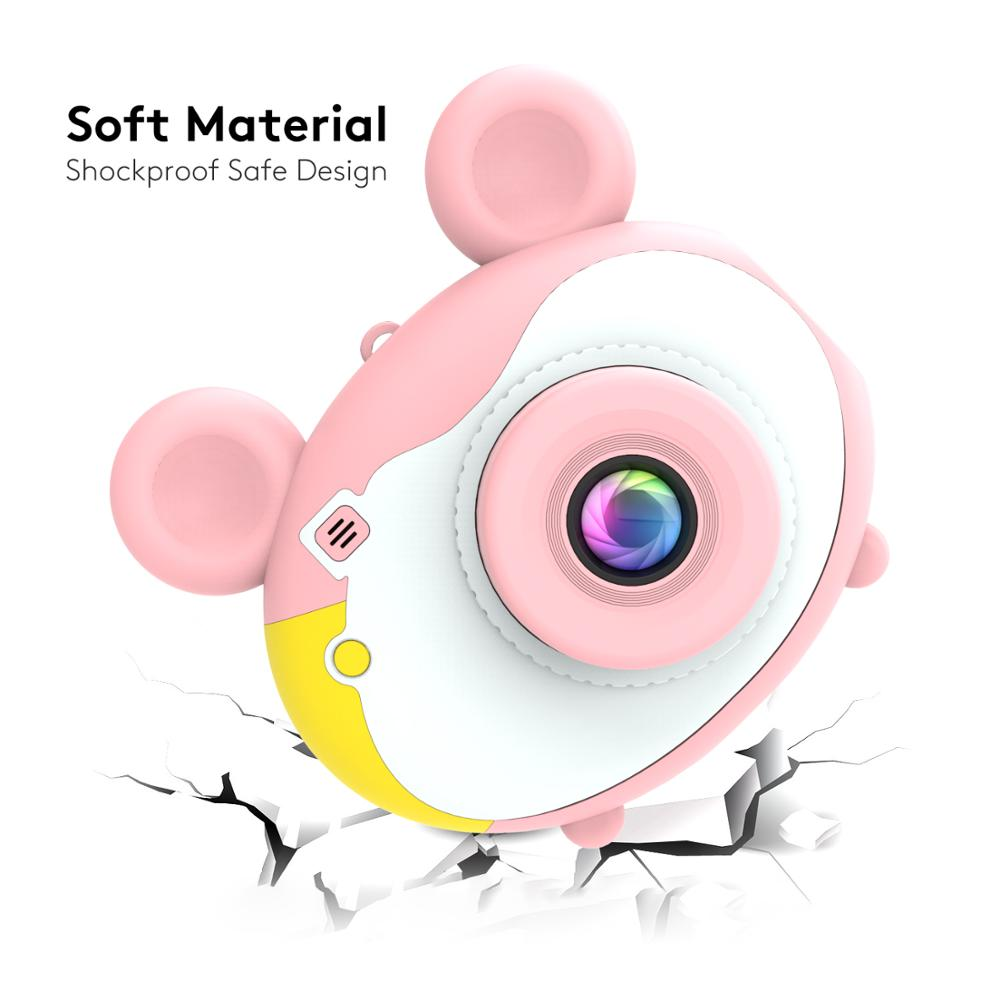 ThiEYE Kiddy 2 Kids Mini Camera Toy Cute Rechargeable Digital Camera with 2 Inch Display Screen Children Educational Toy Play-in Sports & Action Video Camera from Consumer Electronics    2